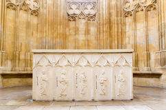 Bratislava - Altar from St. John the Evangelist chapel beside of Franciscan church. Royalty Free Stock Photo