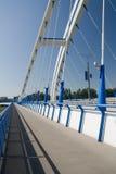 Bratislava-- Apollo-Brücke Stockbilder