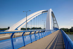 Bratislava - Apollo bridge Royalty Free Stock Photos