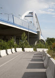 Bratislava - Apollo new bridge Stock Images
