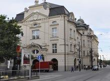 Bratislava,august 29:Slovak Philharmonic Building from Bratislava in Slovakia Royalty Free Stock Images
