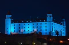 bratislava błękitny kasztel Obrazy Royalty Free