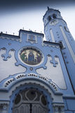 Bratislava Blue Church Stock Photography