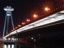Bratislava-Brücke Stockfoto