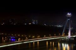 Bratislava Bridge Stock Images