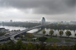 bratislava bro Royaltyfri Bild