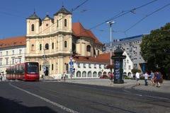 Bratislava - capital de Eslovaquia Foto de archivo libre de regalías