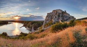 Bratislava, castelo de Devin, Eslováquia Foto de Stock