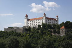 Bratislava castle. Is the main castle of Bratislava, the capital of Slovakia Stock Images