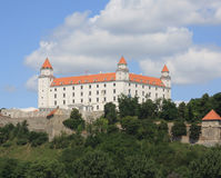 Bratislava Castle Royalty Free Stock Photography
