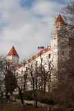 Bratislava Castle. As seen from the south eastern side royalty free stock images