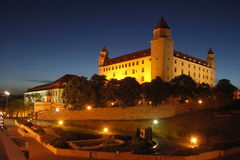 Bratislava castle Royalty Free Stock Photo