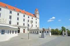 Bratislava Castle Royalty Free Stock Photos