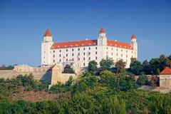 Bratislava Castle Bratislavsky hrad, Slovakia royalty free stock image