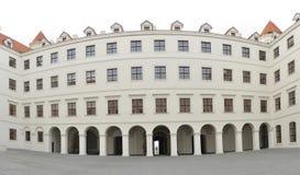 Bratislava castle courtyard Stock Photography