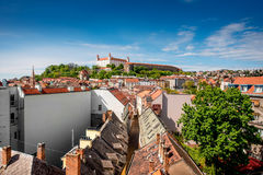 Free Bratislava Castle Hill Stock Images - 71208254