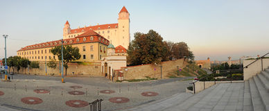 Bratislava Castle panorama Royalty Free Stock Photos