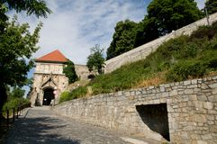 Bratislava castle -  Sigismund Gate Royalty Free Stock Photography