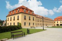 Bratislava Castle - Slovakia. Bastion buildings at Bratislava Castle, Slovakia Royalty Free Stock Photos