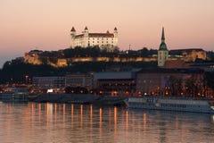 Bratislava castle, Slovakia Royalty Free Stock Image
