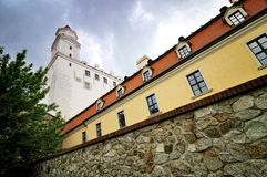 Bratislava castle, Slovakia Royalty Free Stock Photos