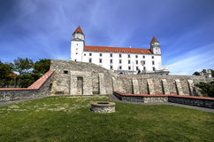 Bratislava castle, Slovakia Stock Photo
