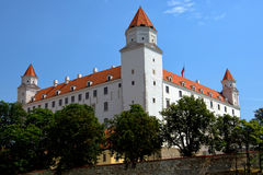 Bratislava Castle in Slovakia Royalty Free Stock Images