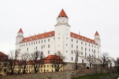 Bratislava castle, Slovakia. Bratislava Castle is the main castle of Bratislava, the capital of Slovakia royalty free stock images