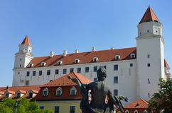 Bratislava Castle Slovakia Stock Photos