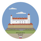 Bratislava Castle, Slovakia Royalty Free Stock Images