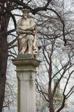 Bratislava castle statue Royalty Free Stock Image