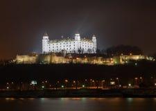Bratislava castle Royalty Free Stock Photos