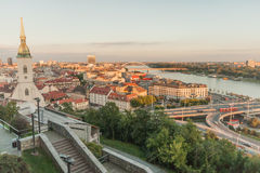 Bratislava castle Royalty Free Stock Images