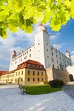 Bratislava castle yard Royalty Free Stock Photos