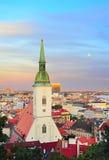 Bratislava Cathedral, Slovakia Stock Photos