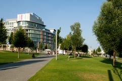 Free Bratislava - Centre Eurovea On The Waterfront Danube Royalty Free Stock Image - 32600976