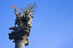 bratislava christ staty Royaltyfria Bilder