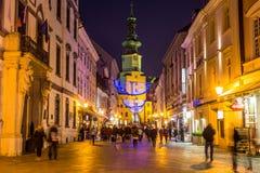Bratislava Christmas Market Stock Image