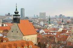 Bratislava churches royalty free stock photo