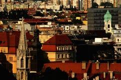 Bratislava city stock photo