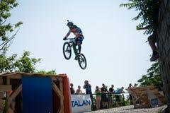 Bratislava City Downhill 2013 Royalty Free Stock Image