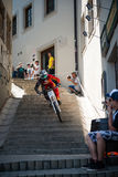 Bratislava City Downhill 2013 Royalty Free Stock Photos