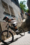 Bratislava City Downhill 2013 Royalty Free Stock Photography