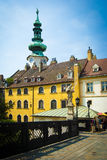 Bratislava city historical architecture Stock Photo