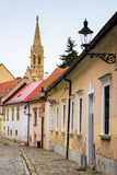 Bratislava city, old buildings in the city center Royalty Free Stock Photography