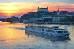 Bratislava city, Slovakia, East Europe Stock Image