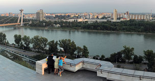Bratislava cityscape Royalty Free Stock Images