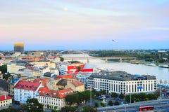 Bratislava cityscape Royalty Free Stock Images