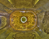 Bratislava  - Cupola of chapel of saint John the Almoner with the fresco by  Daniel Grana (1694 � 1757) in st. Martin cathedral. Royalty Free Stock Photography