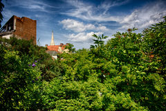 Bratislava da parede Imagens de Stock